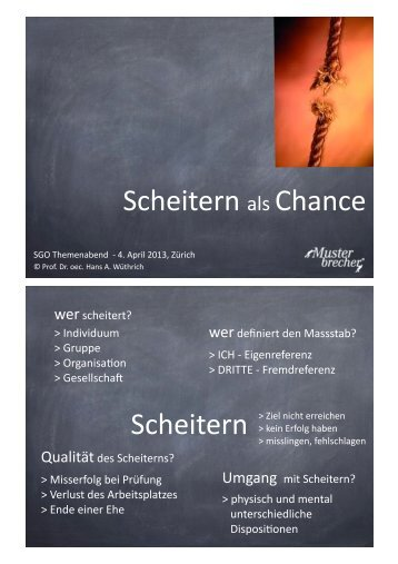 Scheitern)als)Chance) Scheitern) - SGO