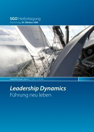Leadership Dynamics - SGO