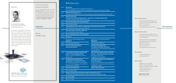 BPM-Forum 2012 - uvision