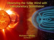 Observing the Solar Wind with Interplanetary Scintillation