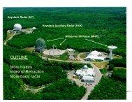 Haystack Radar