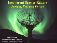 Incoherent scatter radars: present, past and future