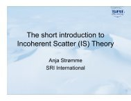 The short introduction to Incoherent Scatter (IS) Theory