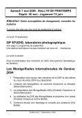 Bull SGP 7 - Sept. 2004 - Société Genevoise de Photographie - Page 7