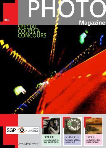 Magazine - Société Genevoise de Photographie