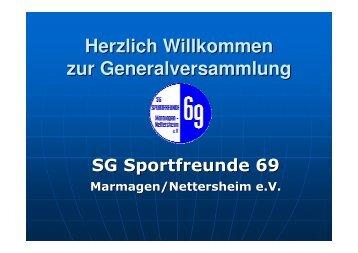 SG Sportfreunde 69 Veranstaltungen 2008