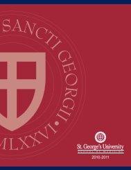 ST. GEORGE'S UNIVERSITY • School of Medicine 2010-2011