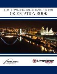 Orientation Book 2013-14 - St. George's University