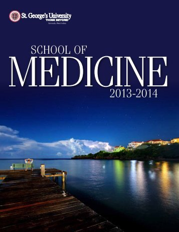 SCHOOL OF 2012-2013 - St. George's University