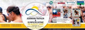JEDERMANN-TRIATHLON & OLYMPISCHE-DISTANZ