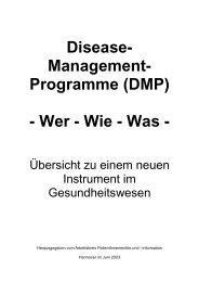 DMP Landesvereinigung - und Gesundheitswesen