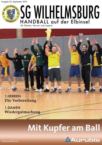 Ausgabe September - SG Wilhelmsburg - Handball