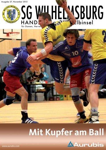 Ausgabe November - SG Wilhelmsburg - Handball
