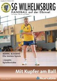Ausgabe Oktober - SG Wilhelmsburg - Handball