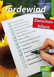 Zwischen- bilanz - GRÜNE Fraktion Schleswig-Holstein