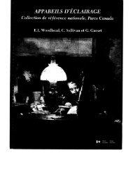 APPAREILS D'ÉCLAIRAGE Collection de référence nationale, Parcs ...