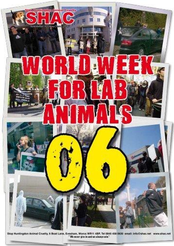 SHAC newsletter 41 - SHAC >> Stop Huntingdon Animal Cruelty
