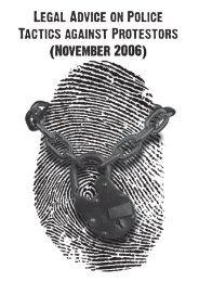 Legal Booklet - SHAC >> Stop Huntingdon Animal Cruelty