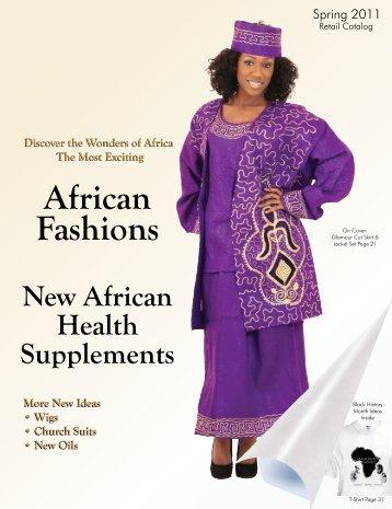Spring 2011 Retail Catalog - Shades of Africa Ltd