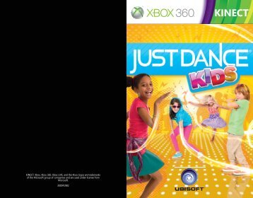 KINECT, Xbox, Xbox 360, Xbox LIVE, and the Xbox logos are ...