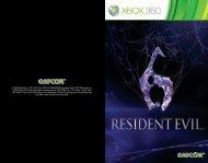 ©CAPCOM CO., LTD. 2012 ALL RIGHTS RESERVED ... - Xbox
