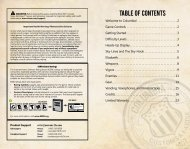 Table of ConTenTs - Xbox