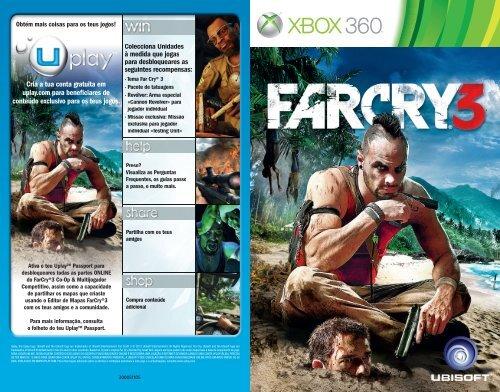 o Manual do Jogo - Xbox