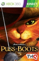 Puss in Boots Xbox Manual.indd