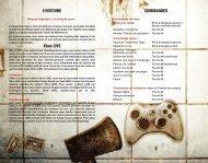 COMMANDES L'HISTOIRE 5 4 Xbox LIVE