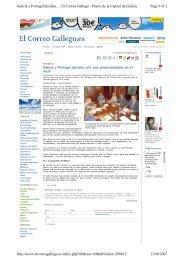 Page 1 of 2 Galicia y Portugal deciden... | El Correo Gallego - Diario ...