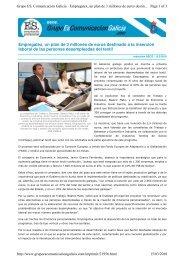 Empregatex, un plan de 3 millones de euros destinado a la ... - aipclop