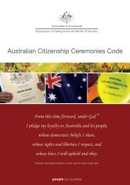 Australian Citizenship Ceremonies Code