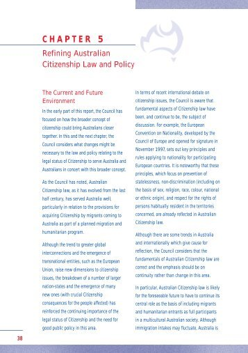 3432 ACC Report f/a 1 - Australian Citizenship