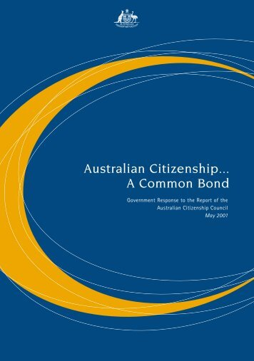 Australian Citizenship... A Common Bond