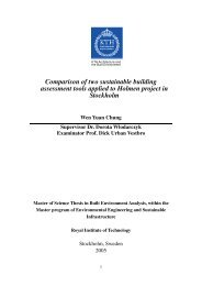 Comparison of two sustainable building assessment tools applied to ...