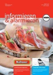 informieren & alarmieren - Dolphin Systems Magazin 2014