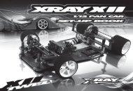 XRAY XII Set-up Book