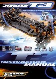 T3 & T3R Manual - Petit RC