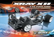 XRAY XII Instruction Manual (pdf) - Petit RC