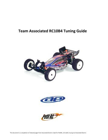 Tuning Guide - Petit RC