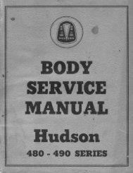 1948-1949 Body Service Manual