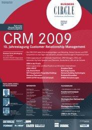 CRM 2009 - Hinterhuber & Partners