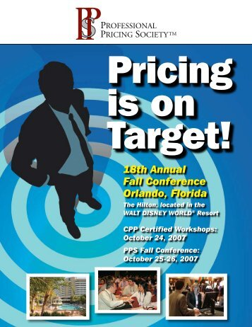 18th Annual Fall Conference Orlando, Florida - Hinterhuber & Partners