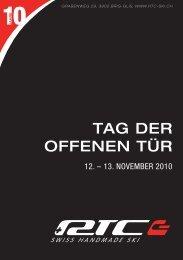 TAG DER OFFENEN TüR - RTC Ski AG