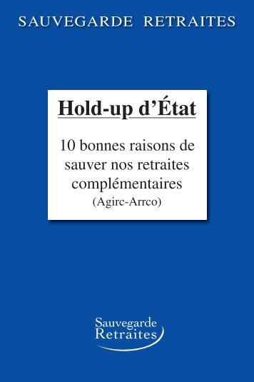 Hold-up d'Etat - Sauvegarde retraites