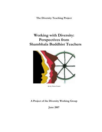 Working with Diversity: Perspectives from Shambhala Buddhist ...