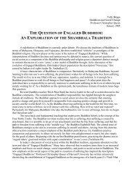 THE QUESTION OF ENGAGED BUDDHISM: AN ... - Shambhala