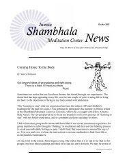 News Shambhala