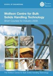 Wolfson Centre for Bulk Solids Handling Technology - Shapa Solids ...