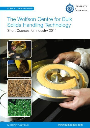 Short Courses for Industry 2011 - Shapa Solids Handling ...